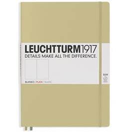 Leuchtturm Master Slim Plain Notebooks thumbnail