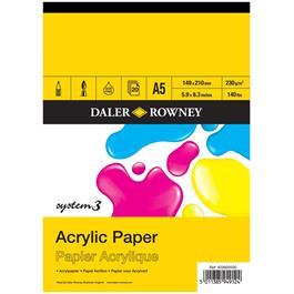 System 3 Acrylic Pad A5 thumbnail