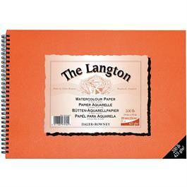 Langton Spiral 425gsm/200lb 16 x 12 inch (406 x 305mm) thumbnail