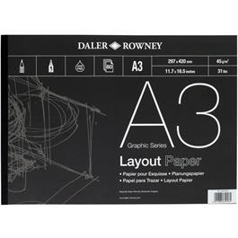 Daler Rowney 45gsm Layout Pads Thumbnail Image 0