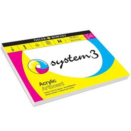 Daler Rowney System 3 Acrylic Artboard Pads thumbnail