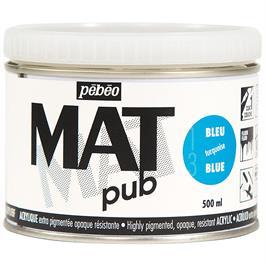 Pebeo MAT Pub Acrylic Paint 500ml Thumbnail Image 0