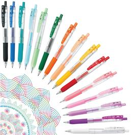 Zebra Sarasa Clip Gel Pens 0.5mm Single Colours thumbnail
