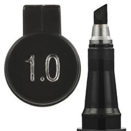 Zebra Zensations Calligraphy Pen Black 1.0mm thumbnail
