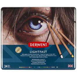 Derwent Lightfast Pencils Tin of 24 thumbnail