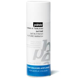 Pebeo Acrylic Solvent Based Satin Varnish 400ml thumbnail
