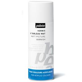 Pebeo Acrylic Solvent Based Matt Varnish 400ml thumbnail