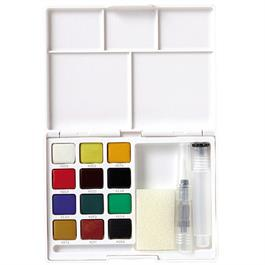Koi Watercolour Sketch Box Set Of 12 Half Pans thumbnail