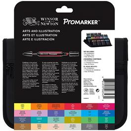 Winsor & Newton ProMarker Arts & Illustration 24 Set Thumbnail Image 1