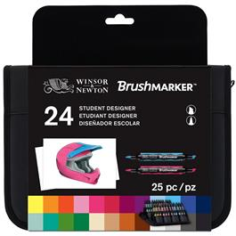 Winsor & Newton BrushMarker Student Designer 24 Set thumbnail