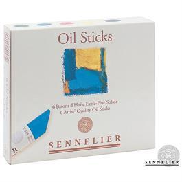 Sennelier Oil Sticks Set Of 6 x 38ml thumbnail