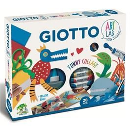 Giotto Art Lab Funny Collage Set Thumbnail Image 0