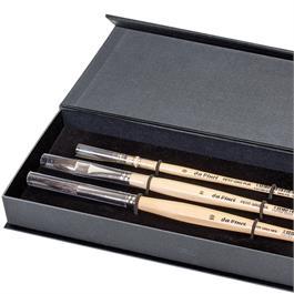 da Vinci Petit Gris Watercolour Brush Gift Box Thumbnail Image 1