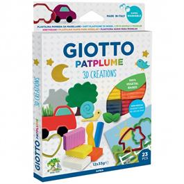 Giotto Patplume 3D Plasticine Creations Set thumbnail