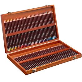 Derwent Coloursoft Pencils Wooden Box of 72 Thumbnail Image 1
