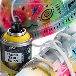 Pebeo 7A Fabric Spray Paint 100ml Thumbnail Image 1