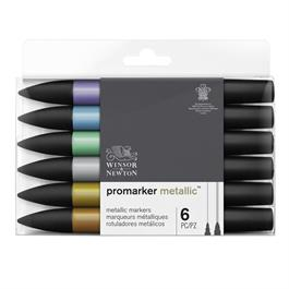Winsor & Newton ProMarker Metallic Set of 6 Thumbnail Image 0