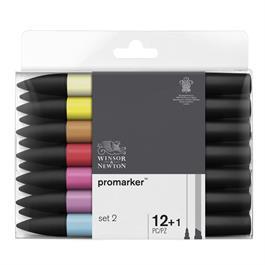 Winsor & Newton ProMarker 12 Set 2 Thumbnail Image 0