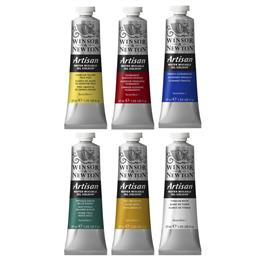 Artisan Water Mixable Oil Paint Beginners Set 6 x 37ml Thumbnail Image 1