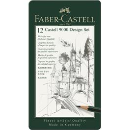 Castell 9000 Design Set of Pencils Thumbnail Image 0