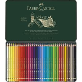 Faber Castell Polychromos Pencils Tin of 36 Thumbnail Image 2