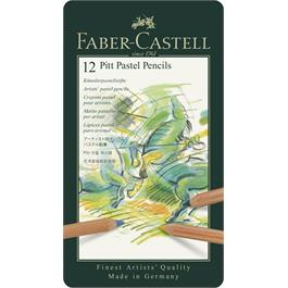 Faber Castell Pitt Pastel Pencil Tin of 12 thumbnail