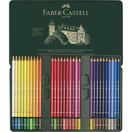 Faber Castell Polychromos Pencils Tin of 60 Thumbnail Image 1