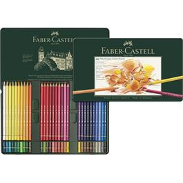 Faber Castell Polychromos Pencils Tin of 60 Thumbnail Image 2