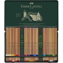 Faber Castell Pitt Pastel Pencil Tin of 60 Thumbnail Image 1