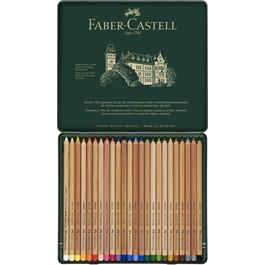 Faber Castell Pitt Pastel Pencil Tin of 24 Thumbnail Image 1