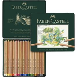 Faber Castell Pitt Pastel Pencil Tin of 24 Thumbnail Image 2