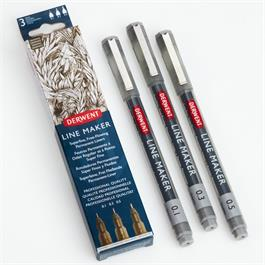 Derwent Line Maker Graphite Set Of 3 Thumbnail Image 1