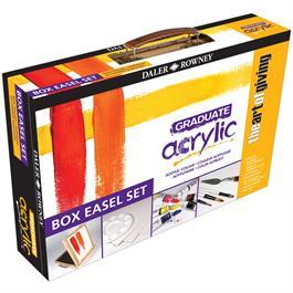 Daler Rowney Graduate Acrylic Easel Box Set Thumbnail Image 0