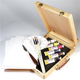 Daler Rowney Graduate Acrylic Easel Box Set Thumbnail Image 1