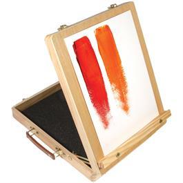 Daler Rowney Graduate Acrylic Easel Box Set Thumbnail Image 2