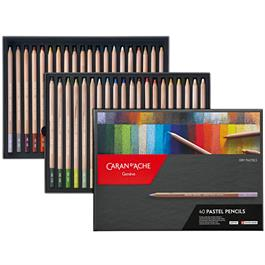 Caran d Ache Pastel Pencils 40 Assorted Set thumbnail