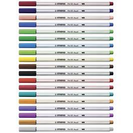 STABILO Pen 68 Brush Pens Single Colours Thumbnail Image 4