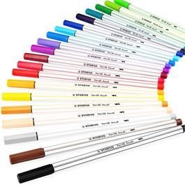 STABILO Pen 68 Brush Pens Single Colours Thumbnail Image 1