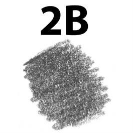 Staedtler Mars Lumograph Pencil 2B thumbnail