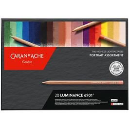 Luminance Portrait Colours Set of 20 Assorted Thumbnail Image 0