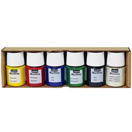 Pebeo Marbling Initiation Set 6 x 20ml Thumbnail Image 1