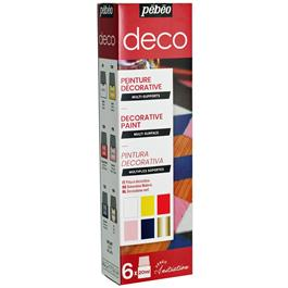 Pebeo Deco Glossy Initiation Set 6 x 20ml thumbnail