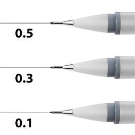 Winsor & Newton Fineliner Cool Grey Set Of 3 Thumbnail Image 1