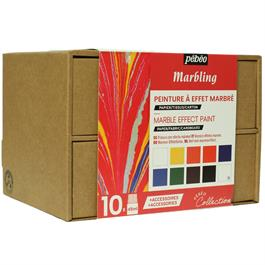 Pebeo Marbling Collection Set 10 x 45ml thumbnail
