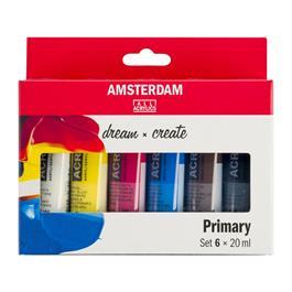 Amsterdam Acrylic Primary 6x20ml thumbnail