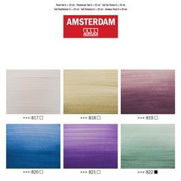Amsterdam Acrylic Pearls Set 6 x 20ml Thumbnail Image 2