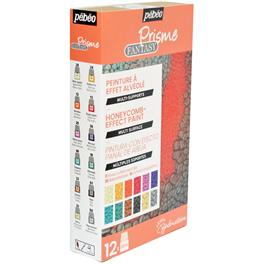 Pebeo Fantasy Prisme Explorer Set 12 x 20ml Thumbnail Image 1