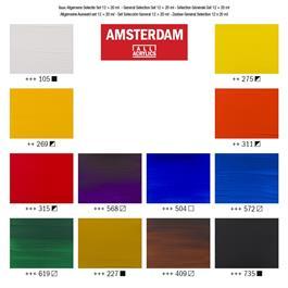 Amsterdam All Acrylic Standard Set 12x20ml Thumbnail Image 2