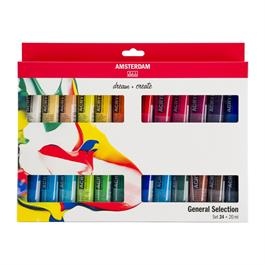 Amsterdam All Acrylic Standard Set 24x20ml thumbnail