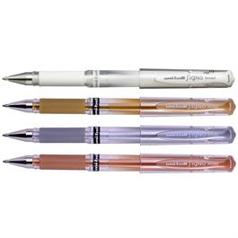 Uni-ball UM-153 Signo Broad Gel Rollerball Pens Single Colours thumbnail